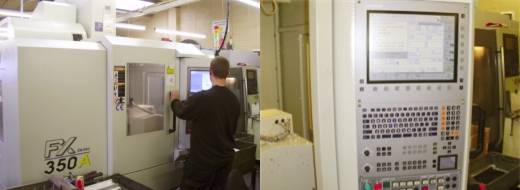 Here We Have A Heidenhain Controlled 5 Axis Ycm Fx350a Machining Center With A X700 Y Travel And 40t Tool Capacity Which Is Just One Of Many Cnc