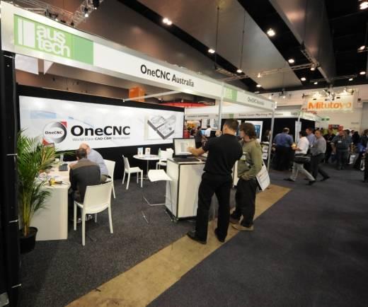 OneCNC-australia-at-Austech 2013